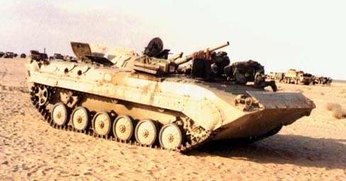 Iraqi BMP-1 captured by 3-5 CAV during the ground offensive